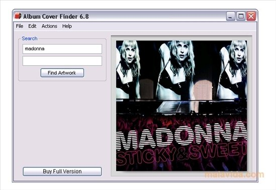 Album Cover Finder image 2