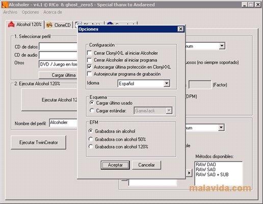 descargar programa alcohol 120 para windows 7 gratis