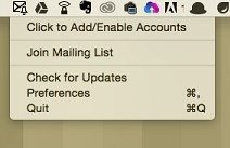 Alerts for Gmail Mac image 2