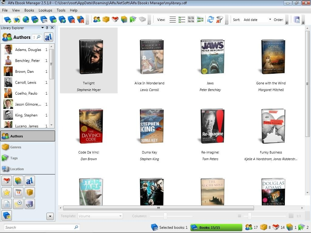 Alfa Ebooks Manager image 6