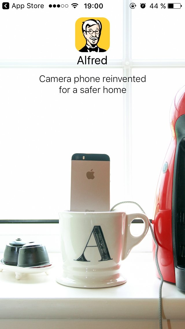 Alfred - Home Security Surveillance IP Camera iPhone image 8