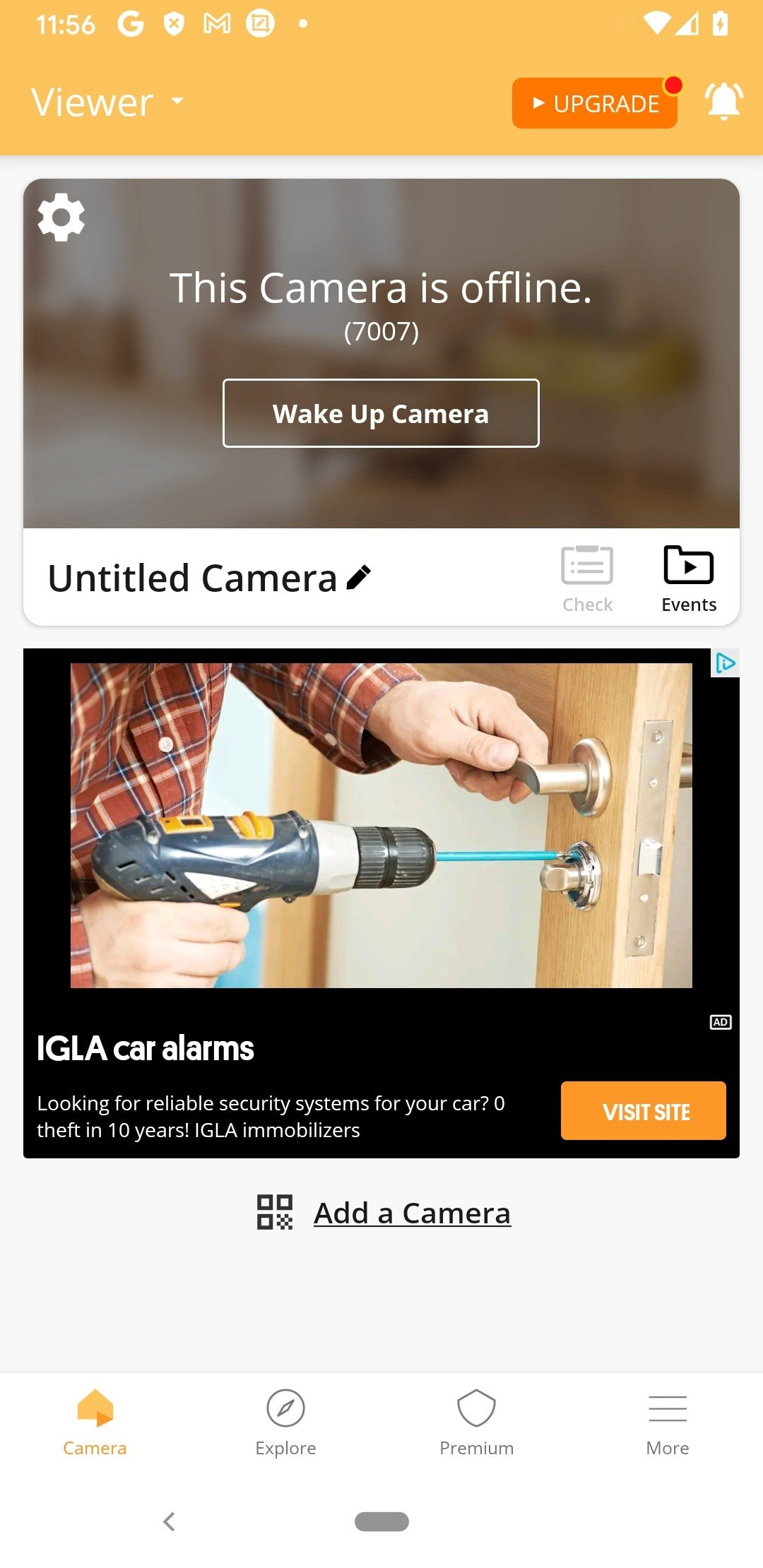 alfred video surveillance cam apk