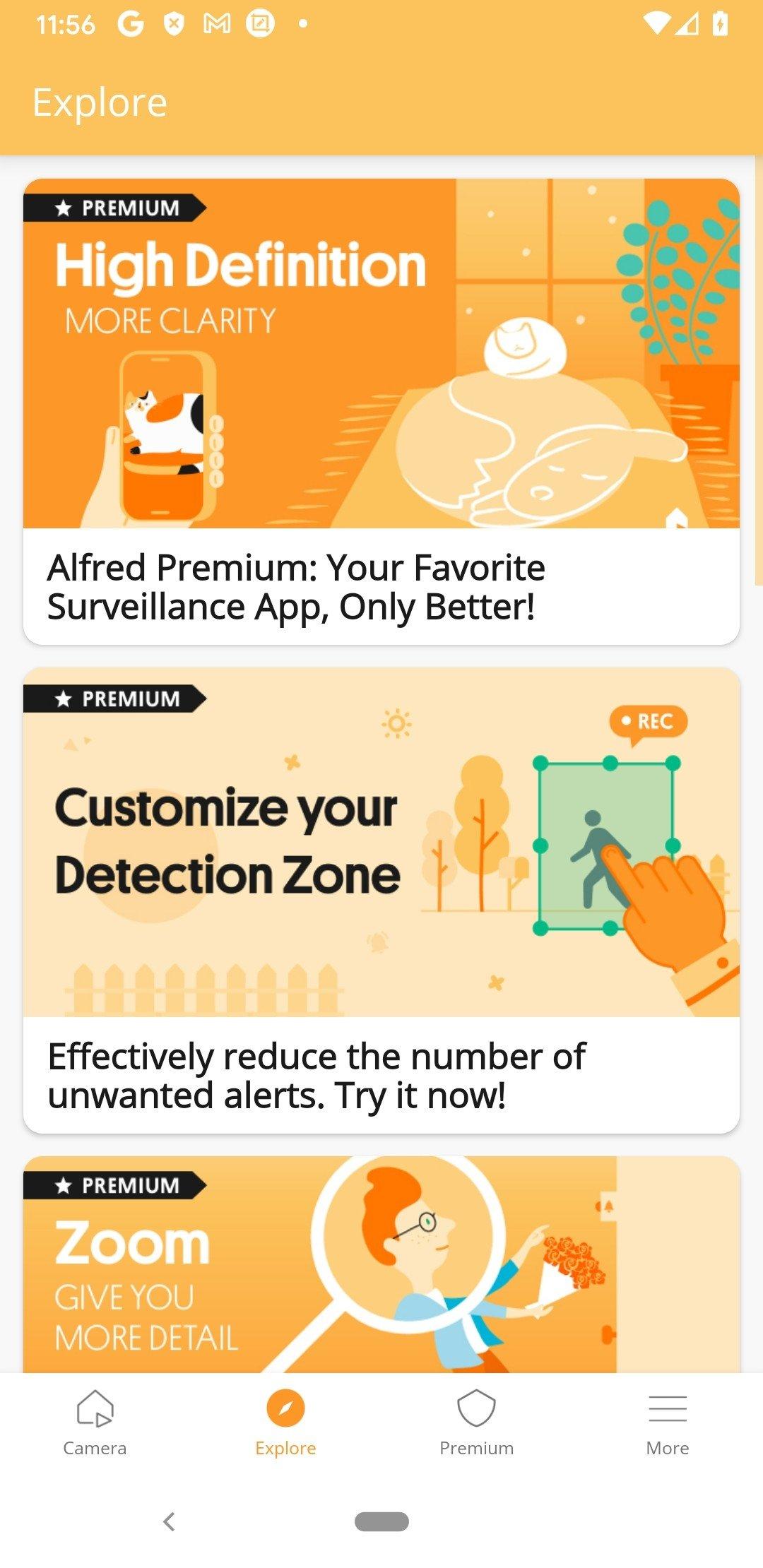 Alfred Cámara de vigilancia Wifi 3 16 6 - Descargar para