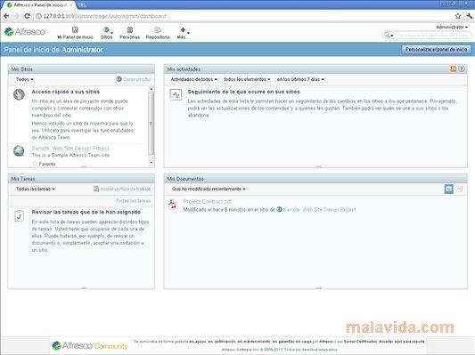 logiciel alfresco