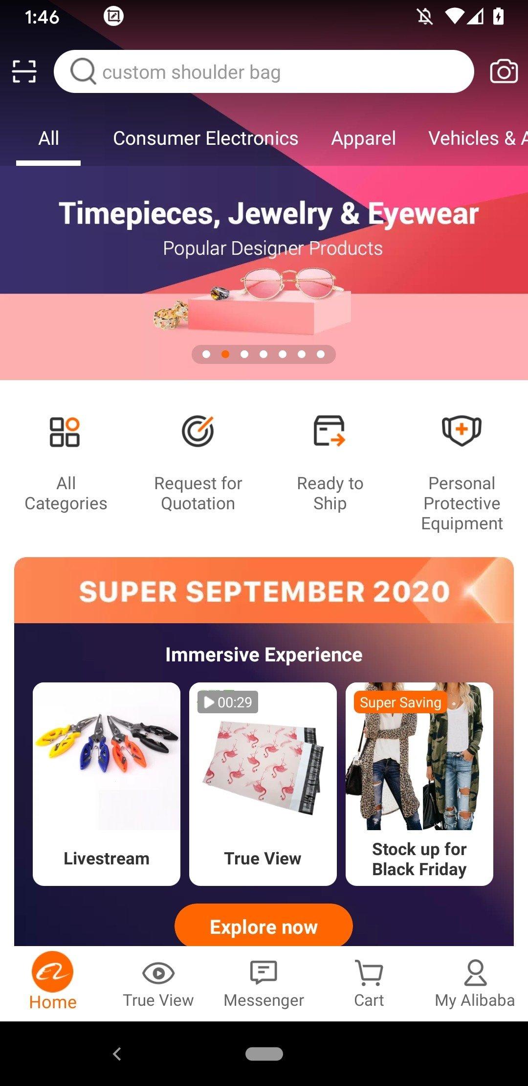 App de vente B2B d'Alibaba.com Android image 8
