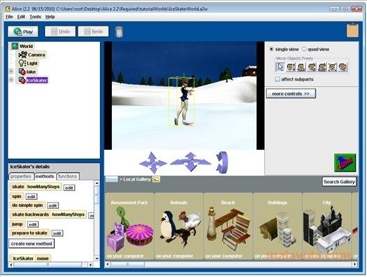 Alice: Game Maker untuk pengenalan Algoritma 1