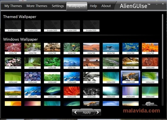 alienguise themes