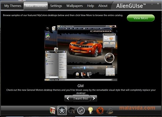 Alienware Windows 7 Theme