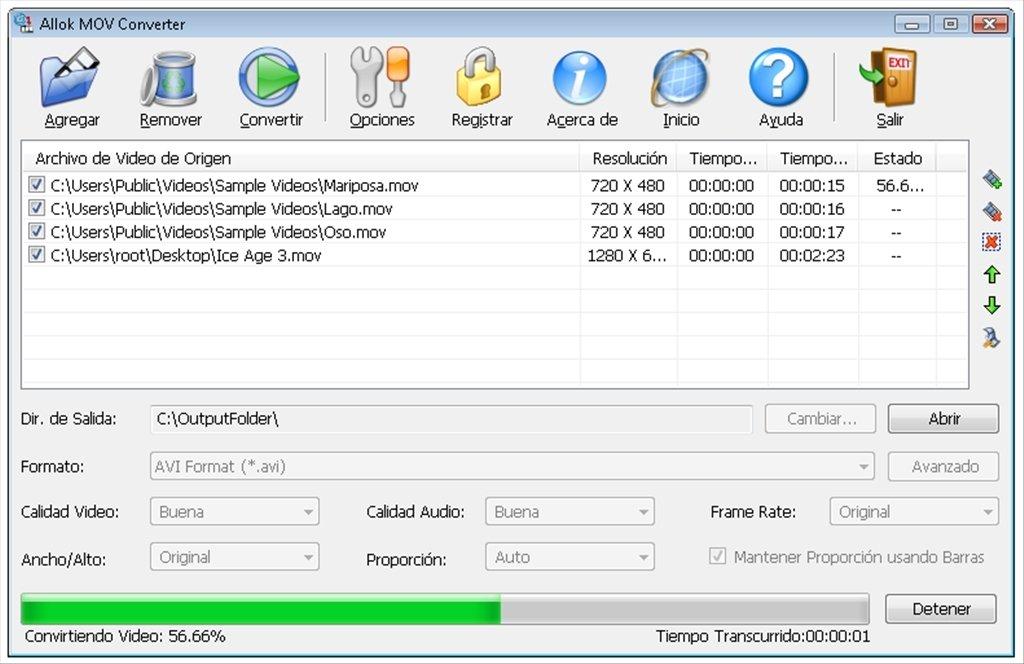 Allok MOV Converter 4.6.0529. allok 3gp converter.