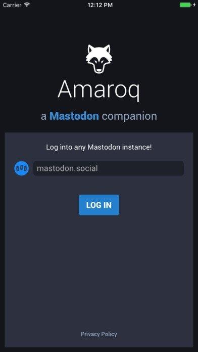 Amaroq for Mastodon iPhone image 5