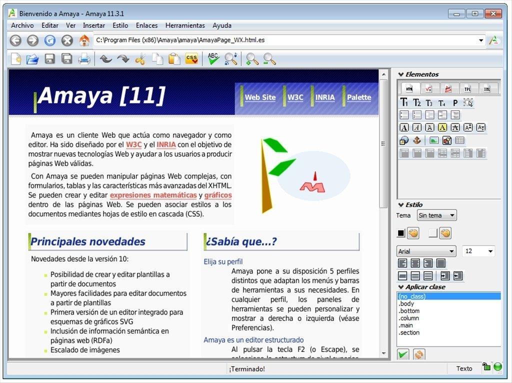 Amaya image 6