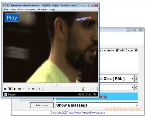 Amaze FLV Converter image 3
