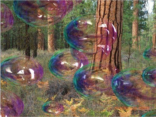 Amazing Bubbles 3D Screensaver image 3