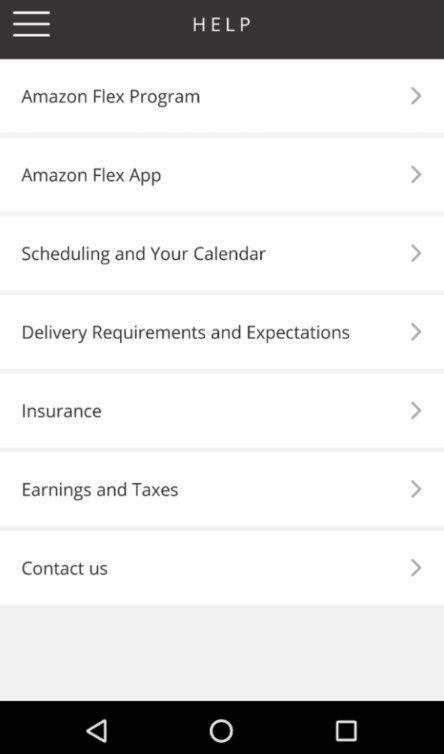 Amazon Flex 3 7 145 0 Telecharger Pour Android Apk Gratuitement