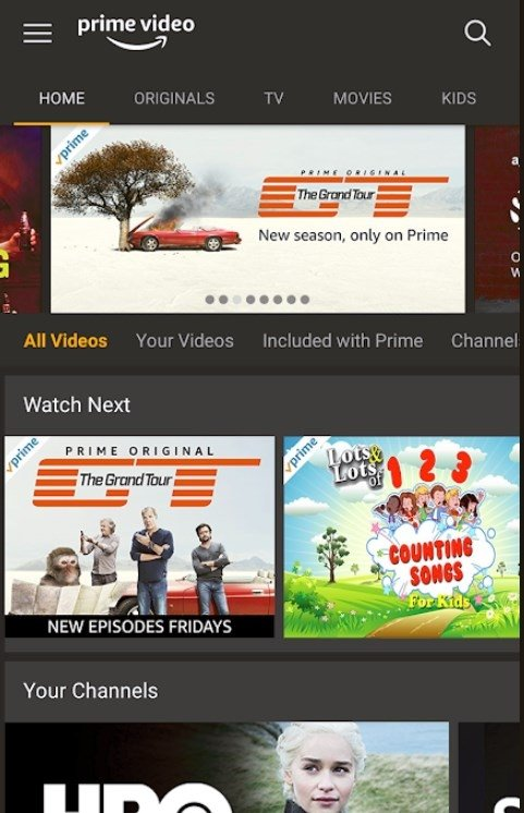 Amazon Prime Video Android image 3