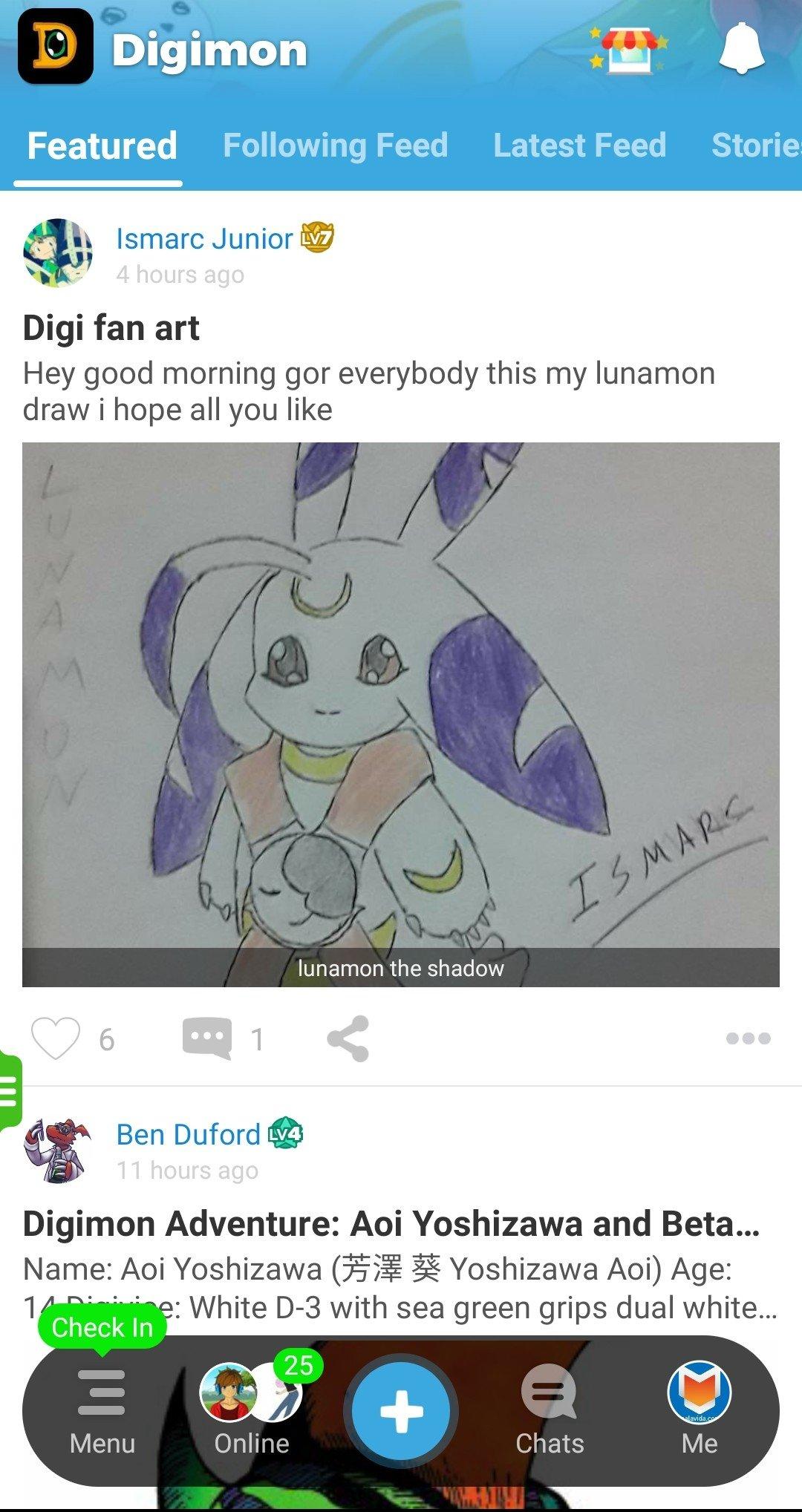 Amino Digimon