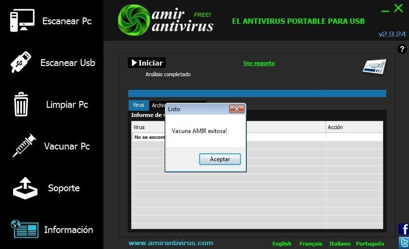 Descargar Amir Antivirus 3 0 8 Gratis En Espa 241 Ol
