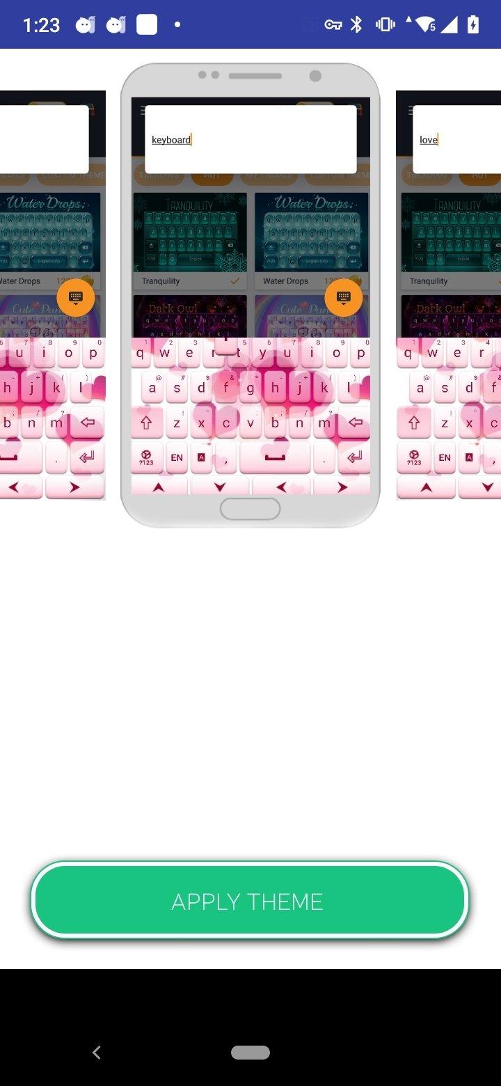 Amor Rosa Teclado Gratuito 1 279 13 100 Descargar Para Android Apk