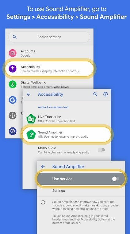 Sound Amplifier 2 0 261094949 - Download for Android APK Free