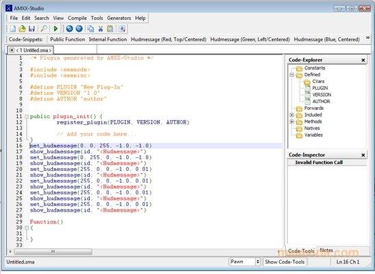 AMXX-Studio 1.4.3