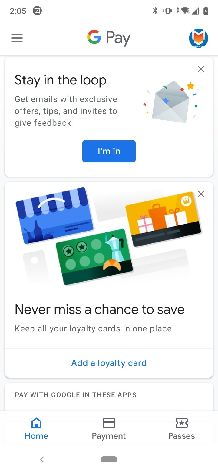 Google Pay 2 94 259479103 - Download for Android APK Free