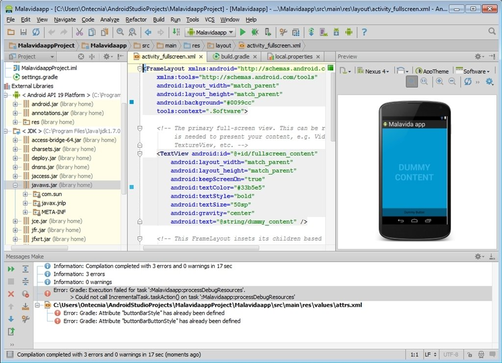 Android Studio 3 3 0 20 - Download for PC Free