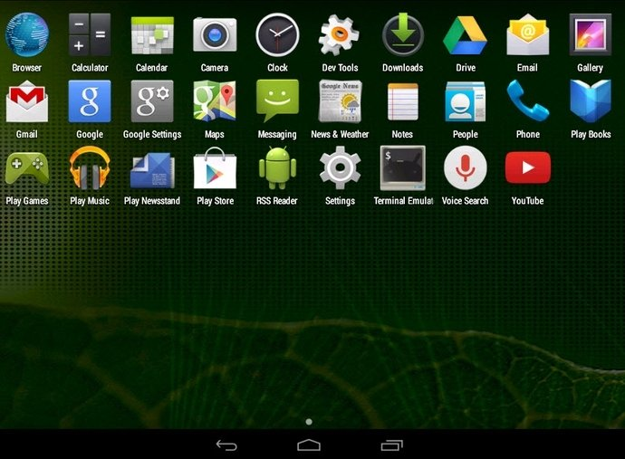 Android x86 image 2