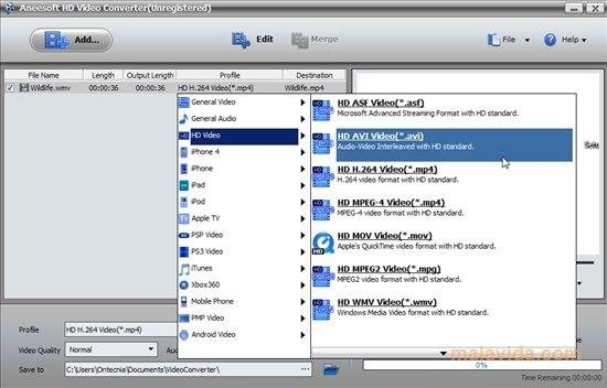 Aneesoft HD Video Converter image 5