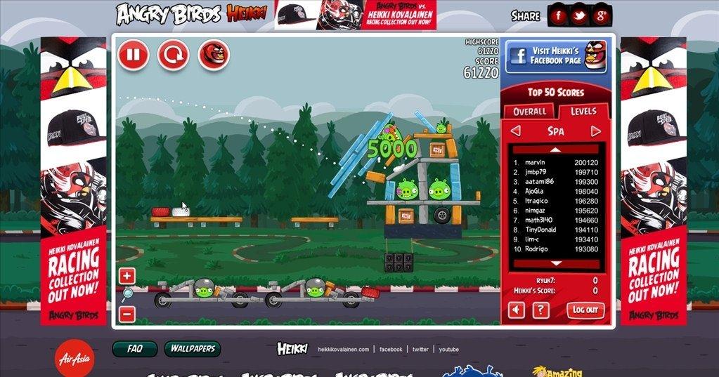 Angry Birds Heikki Webapps image 6