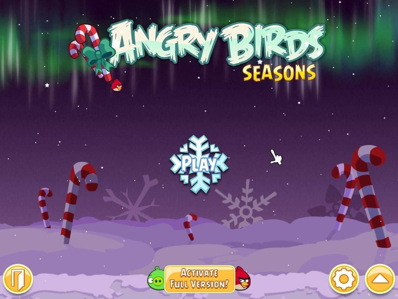 angry birds seasons v4.1.0 activation key