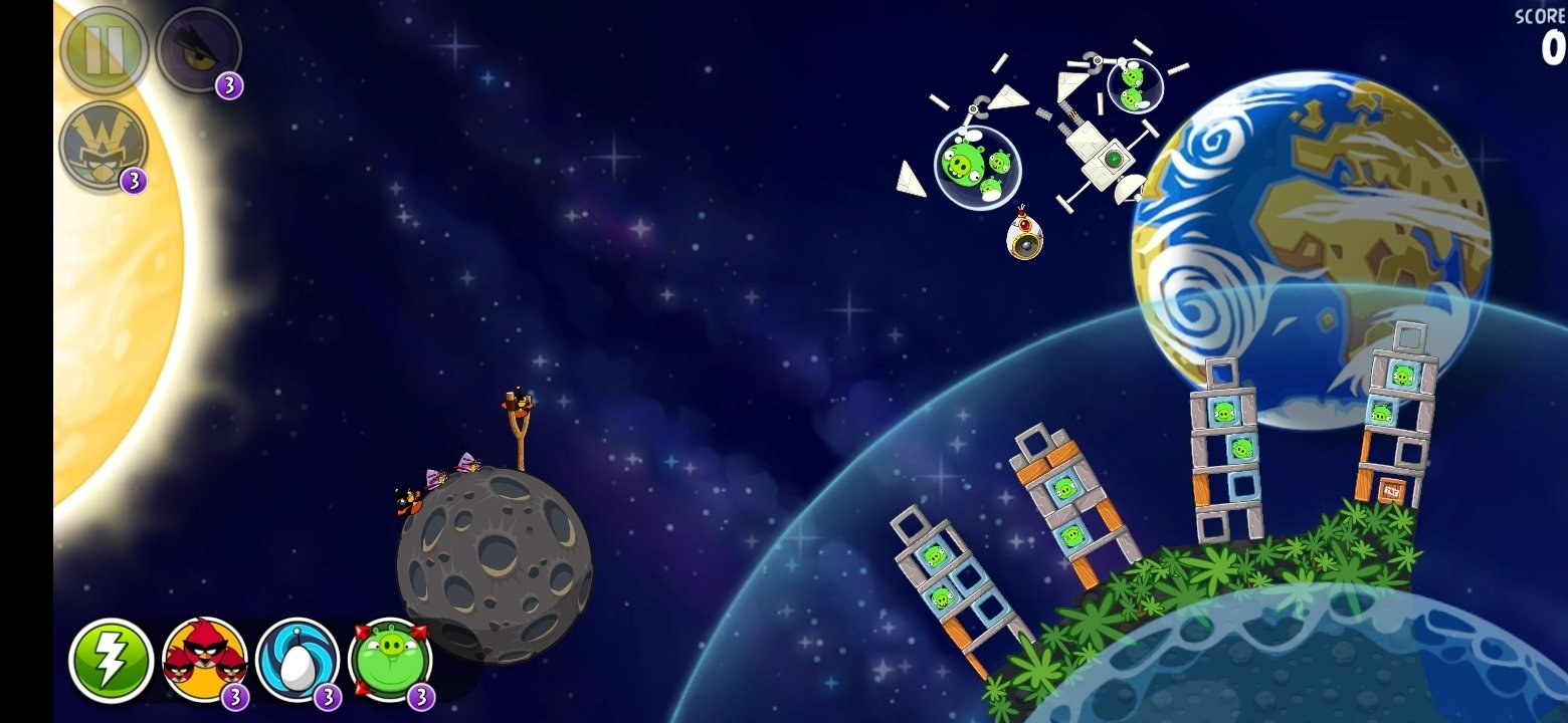 Angry Birds Space Android image 5