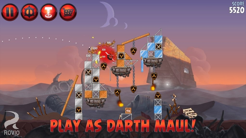 Screenshots for Angry Birds Star Wars II Free