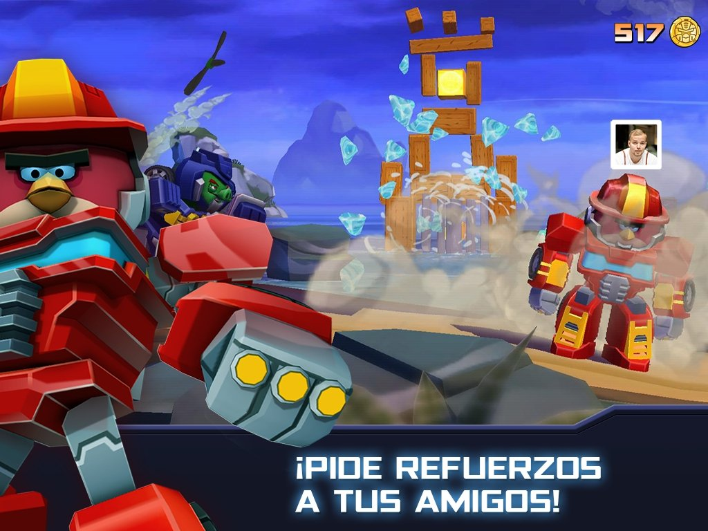 angry birds transformers game free download