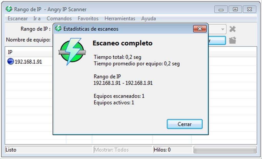 Angry IP Scanner 3 5 5 - Download for PC Free