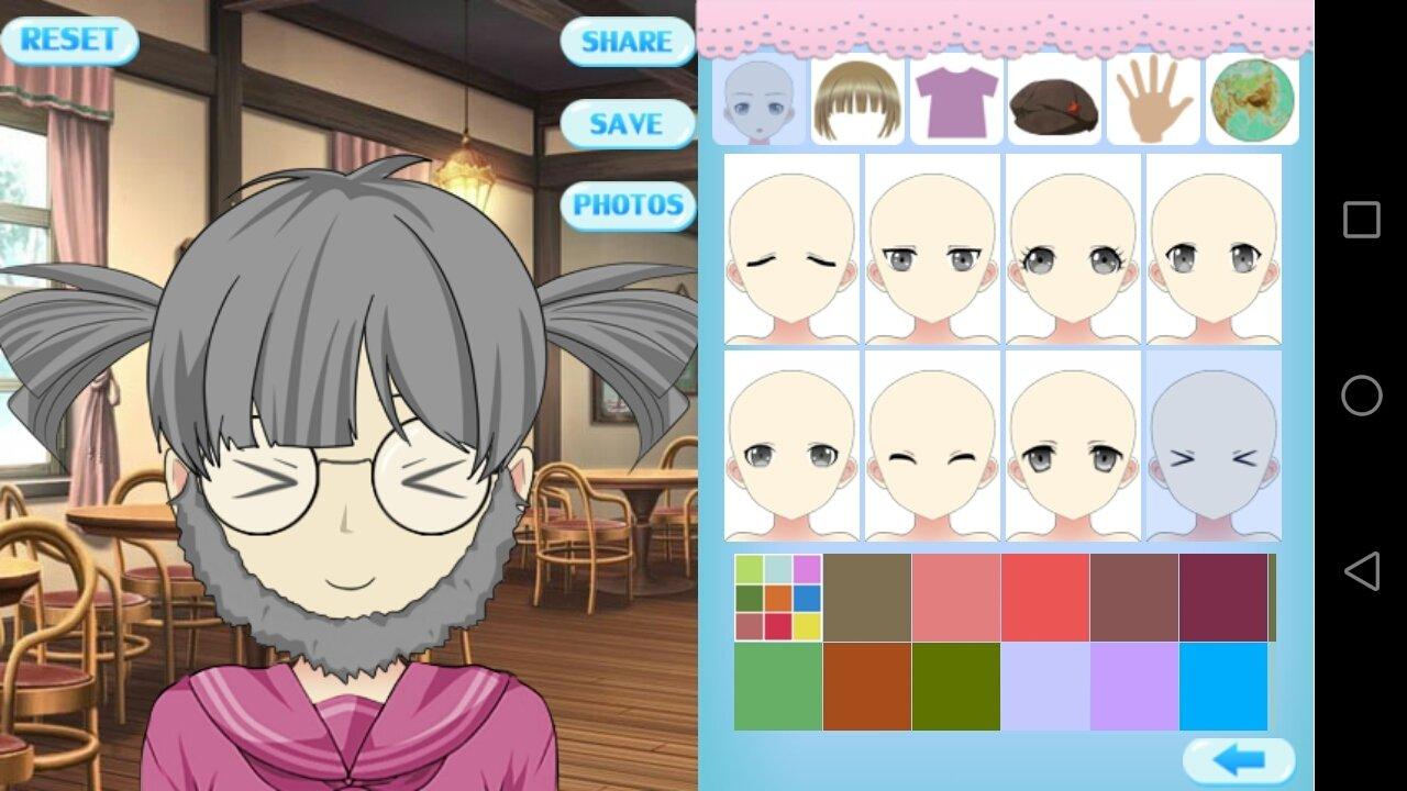 Dessin animé dessin avatar avatar cartoon illustration.