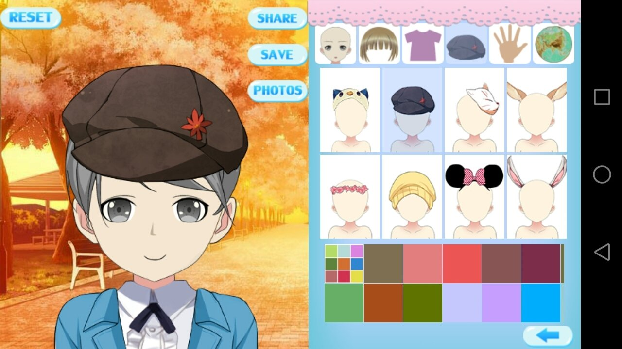 Design Your Anime Character : Download anime avatar studio 1.0.0 android apk free