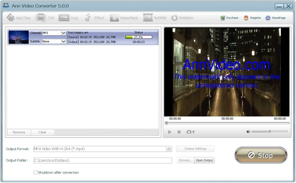 convertitore video vari formati ad amv