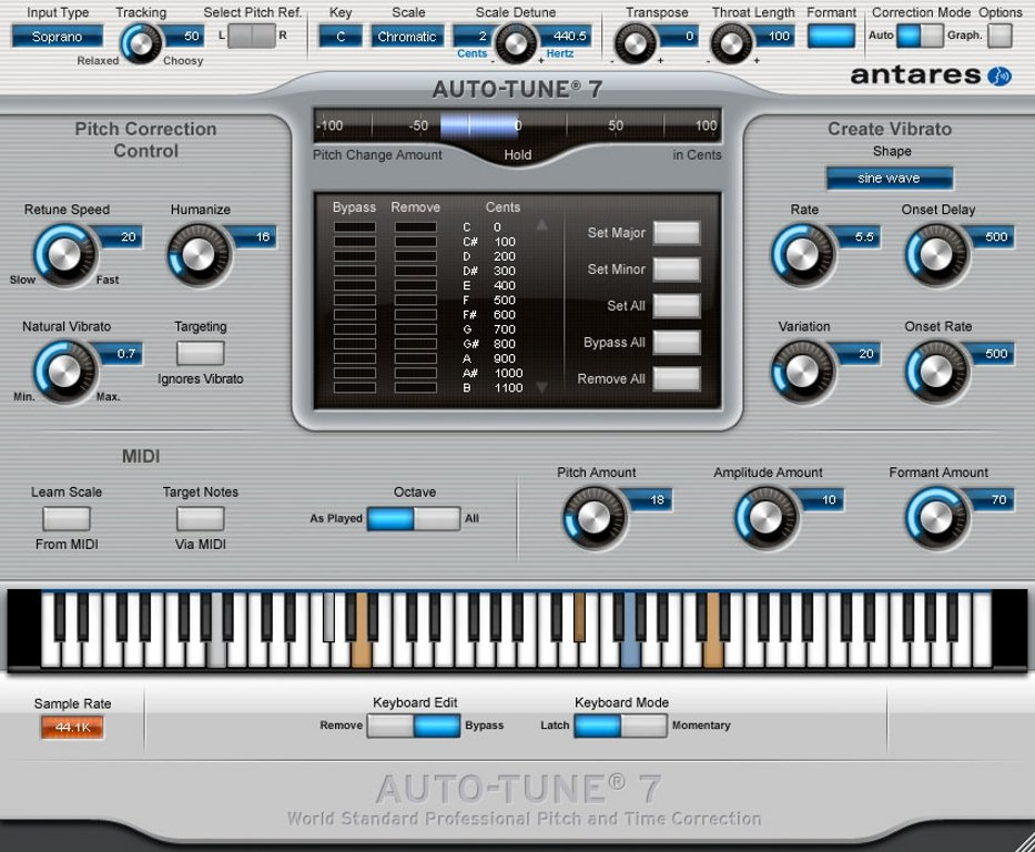 Antares Auto-Tune 7.1.3 RTM
