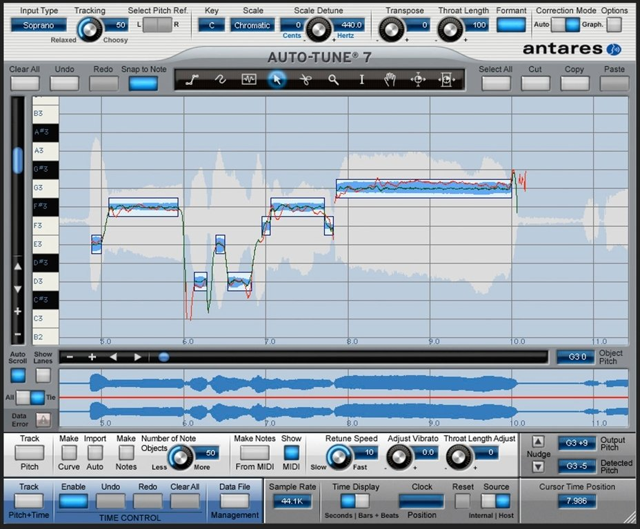 Antares Auto-Tune 8 1 8 - Download for Mac Free