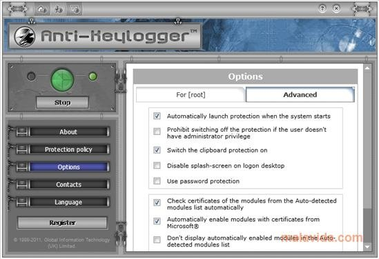 Anti-keylogger 10 3 3 - Download for PC Free