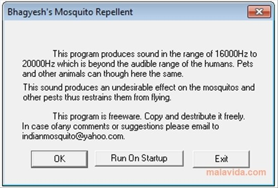 2 desktop tools and 9 high frequency mosquito sounds [ download ].