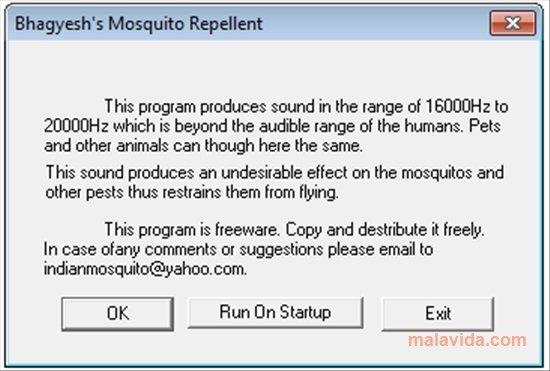 kontroversi hati - Anti Mosquitos - Software pengusir nyamuk