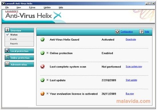 Anti-Virus Helix image 4