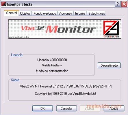 Antivirus VBA32 image 5