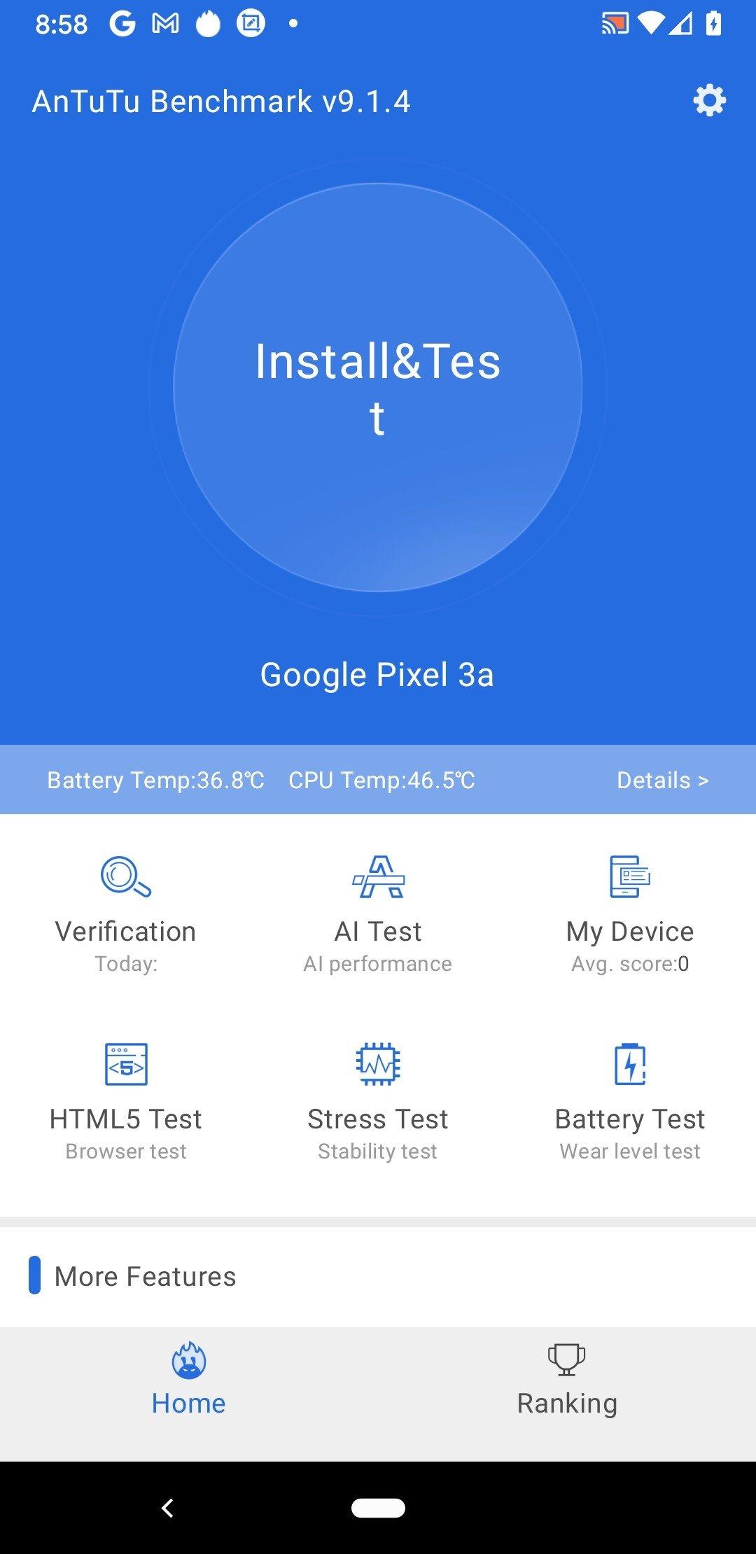 AnTuTu Benchmark Android image 5