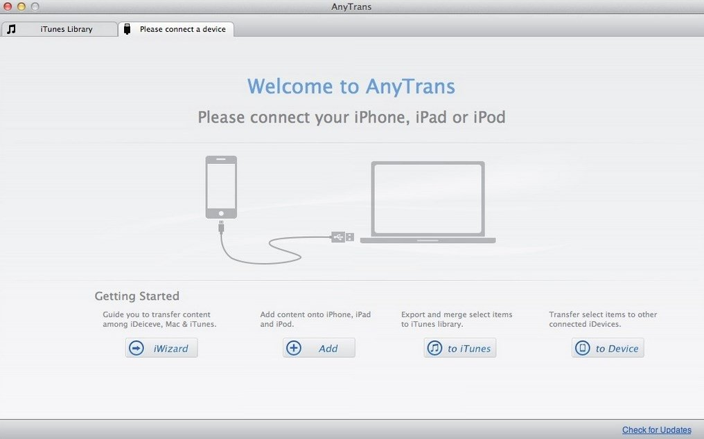 AnyTrans Mac image 3