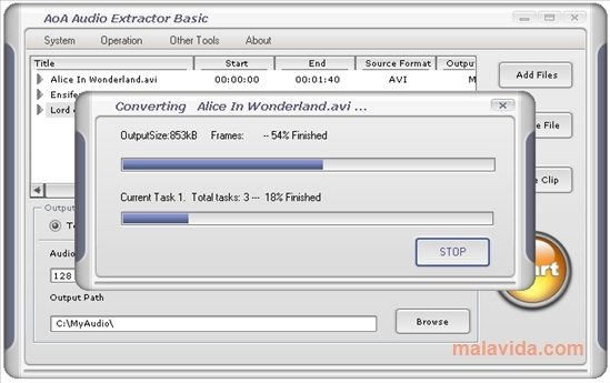 Free audio extractor 1. 3 download.