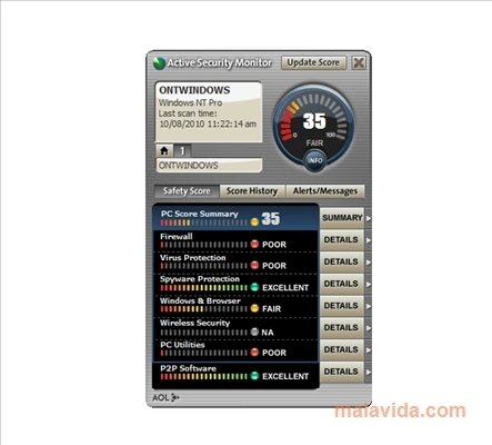 AOL Active Security Monitor image 3