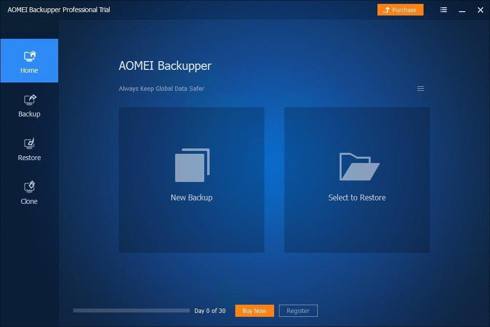 AOMEI Backupper image 6