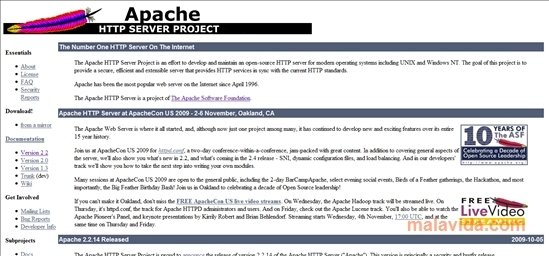 Apache HTTP Server 2 4 38 - Download for PC Free